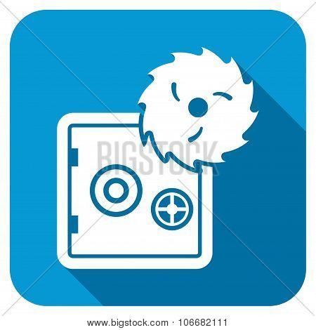 Hacking theft Longshadow Icon