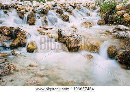 Rio Chillar River In Nerja, Malaga, Spain