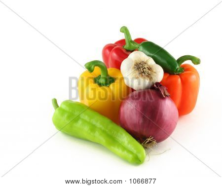 Arrangment Of Vegetables