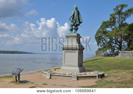 Captain John Smith Statue