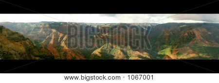 Waimea Canyon Pana