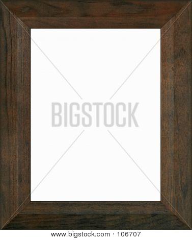 Cadre bois brun