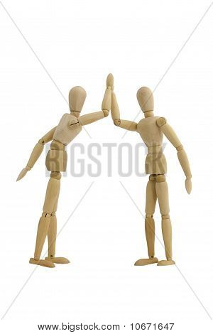 Give Me Five Wooden Dumies