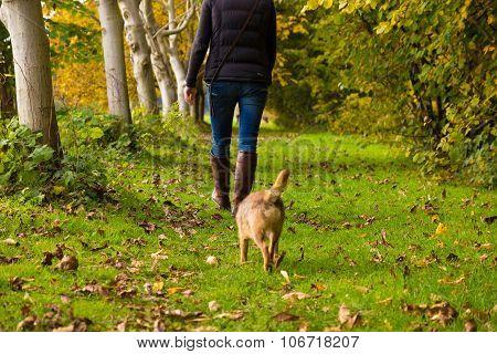 A walk outside