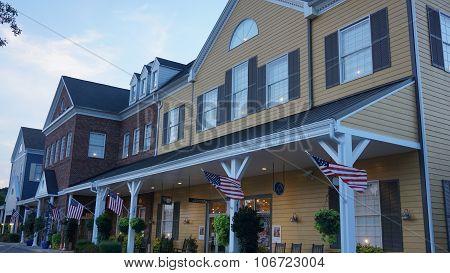 Yankee Candle Village in Williamsburg, Virginia