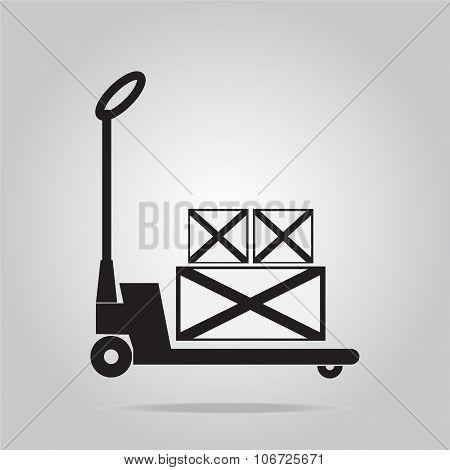 Hand Pallet Jack Lift Sign, Hand Pallet Truck