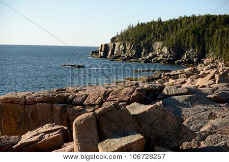 Beautiful Summer Image Of Acadia National Park