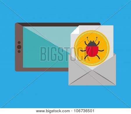 social media , vector illustration