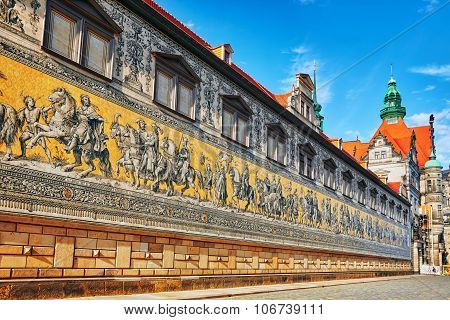 Georgentor And The Procession Of Princes. Georgentor, Or Georgenbau, Was The Original City Exit To T