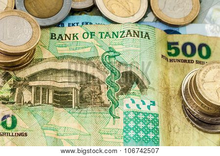 Money Bank Of Tanzania Bill Coins