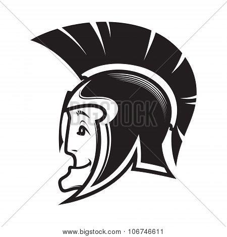 Head Of Ancient Warrior