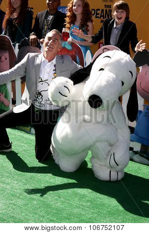 LOS ANGELES - NOV 1:  Steve Martino, Snoopy at the