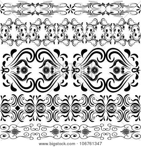 Seamless Ornament Linear