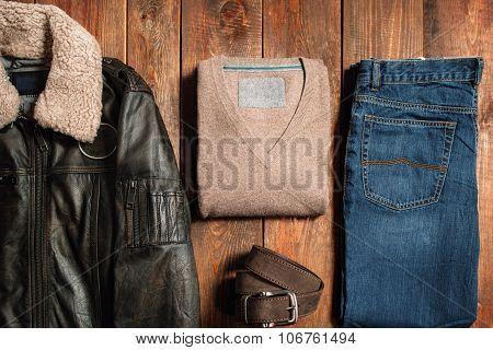 Winter Men's Cloth Set