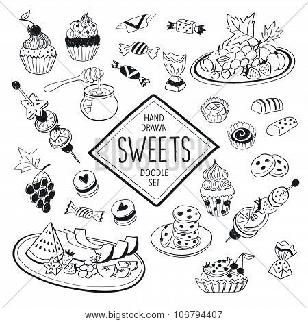 Doodle sweets