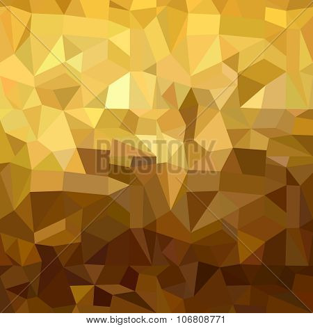 Fancy golden seamless pattern in low polygon 3d style. Ideal for web background print or greeting card. EPS10 vector. poster