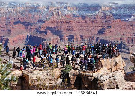Grand Canyon Tourist