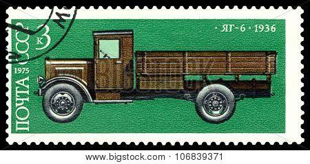 Stamp. Car Pt - 6, 1936.