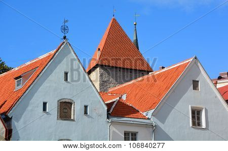 Houses and Tower of Toompea Castle