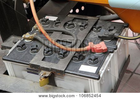 old car battery