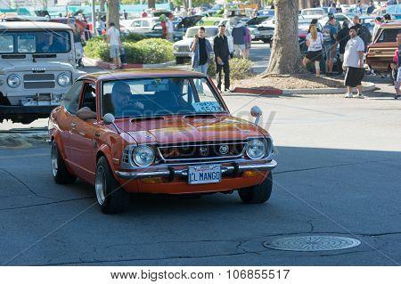 Toyota Corolla On Display