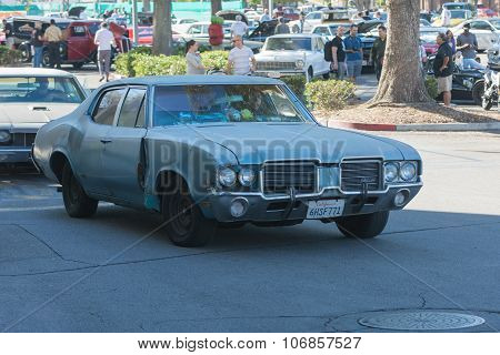 Oldsmobile Cutlass On Display