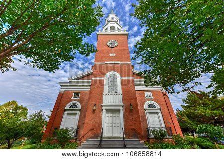 First Unitarian Church - Burlington, Vermont