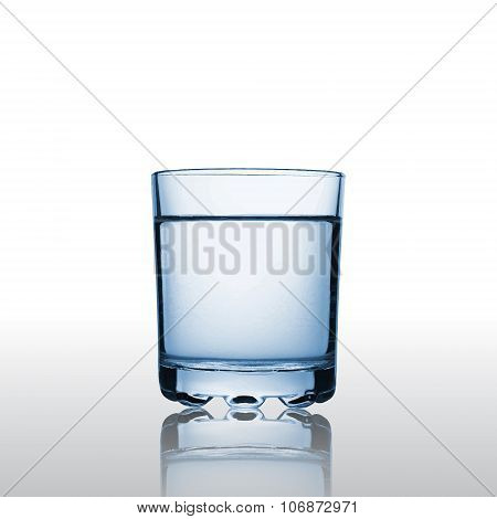 Pure Water In A Glass
