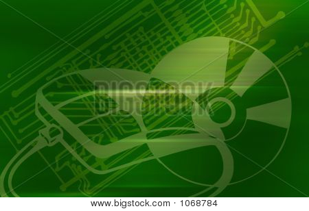Computer Media Background