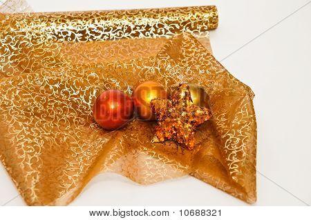 Christmas texture decoration