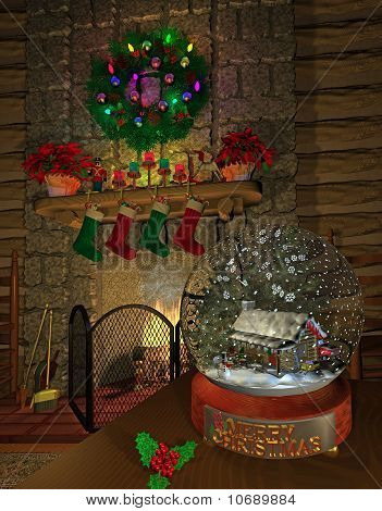 fireplace_snowglobe