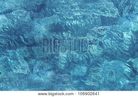 Seamless texture water