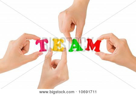 Hands And Word Team