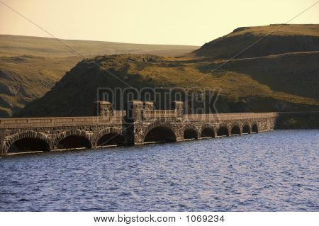 Wales Valley Of The River Claerwen The Cambrian Mountains