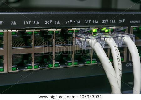 Network Switch And Lan Line