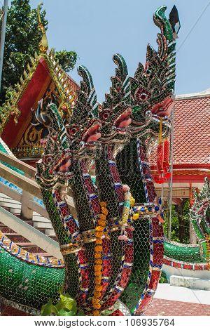 Thai traditional dragons.