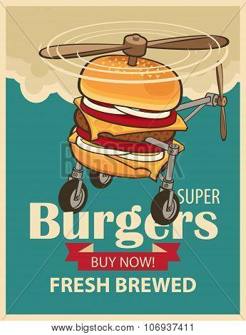 Super Burger Helicopter