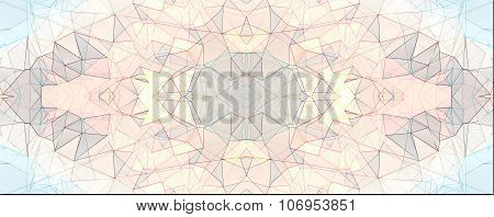 Colorful Kaleidoscope Pattern, Abstract Design