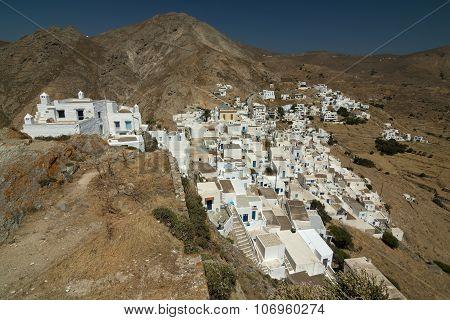 Greek Island Town