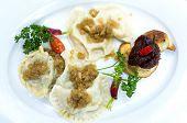 Polish dumplings - pierogi, polish food poster