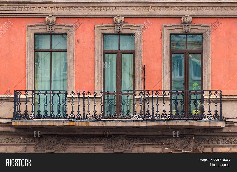 Three Windows Row Image Photo Free Trial Stock