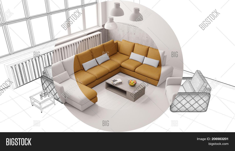CAD Interior Design Image Photo Free Trial Bigstock