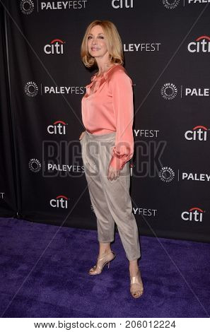 LOS ANGELES - SEP 12:  Sharon Lawrence at the CBS - Me, Myself and I PaleyFest Fall Preview at the Paley Center for Media on September 12, 2017 in Beverly Hills, CA