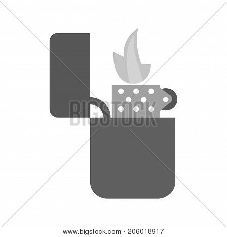 Lighter, cafe, bar icon vector image. Can also be used for Cafe and Bar. Suitable for mobile apps, web apps and print media.