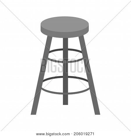Stool, chair, cafe icon vector image. Can also be used for Cafe and Bar. Suitable for mobile apps, web apps and print media.