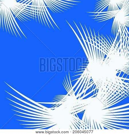 Abstract blue background. EPS10 vector. Frost background.