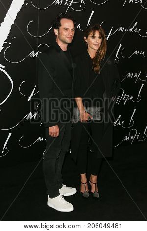 NEW YORK-SEP 13: Actors Matthew Rhys (L) and Keri Russell attend the