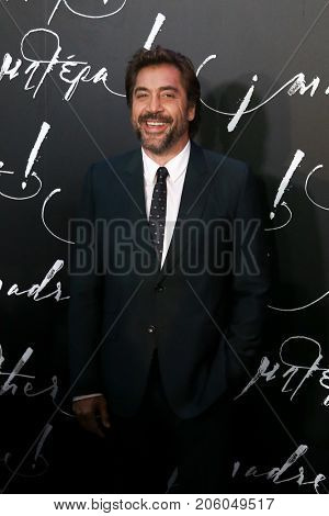 NEW YORK-SEP 13: Actor Javier Bardem attends the