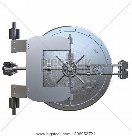 Metal Bank Vault