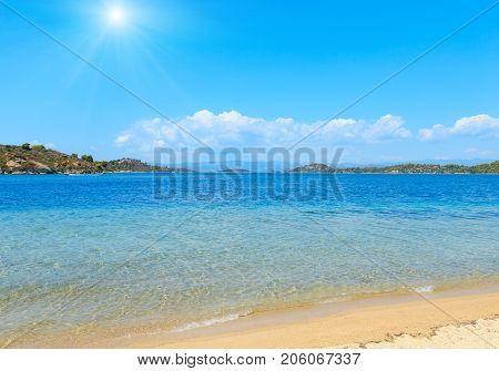 Sunshiny Sea Coast (sithonia, Greece).
